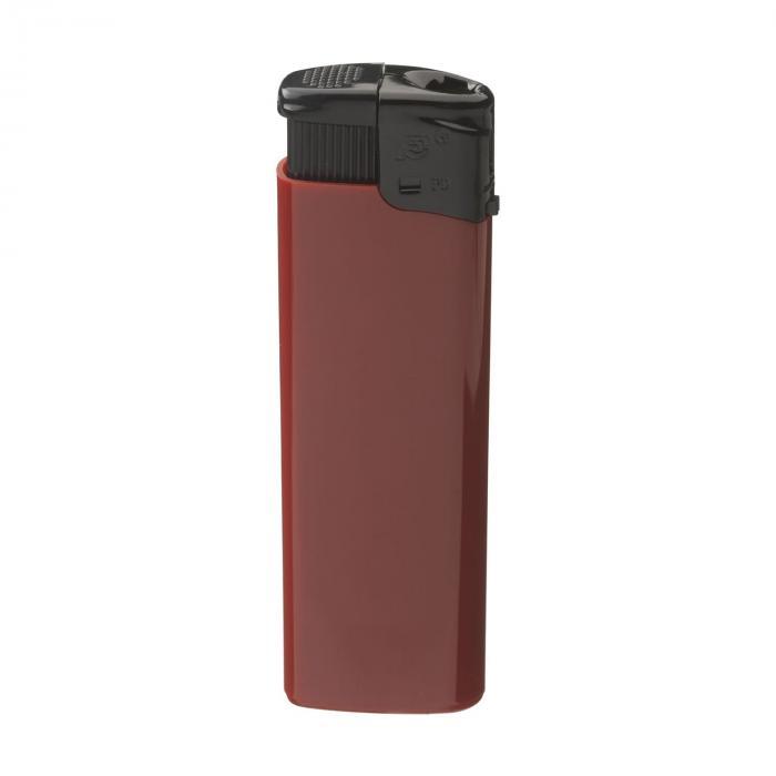 Sturmfeuerzeug   Elektronisch   Blackcap   732955 Rot