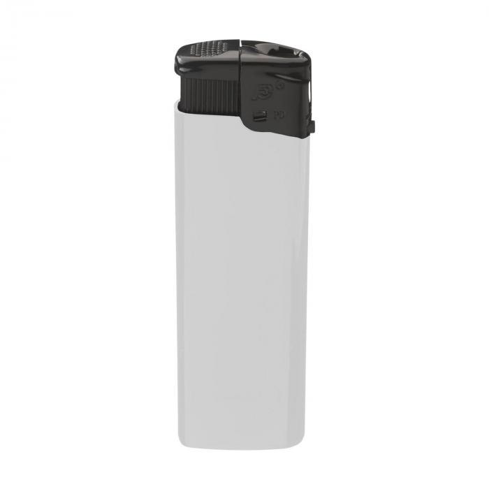 Sturmfeuerzeug   Elektronisch   Blackcap   732955 Weiß