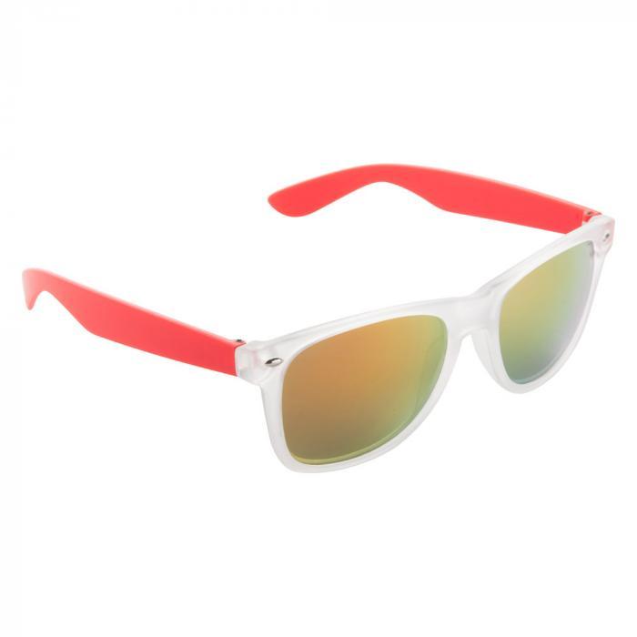 Sonnenbrille | Farbige Bügel | 83741351 Rot