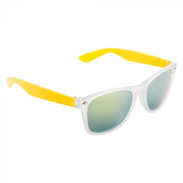 Sonnenbrille | Farbige Bügel | 83741351 Gelb