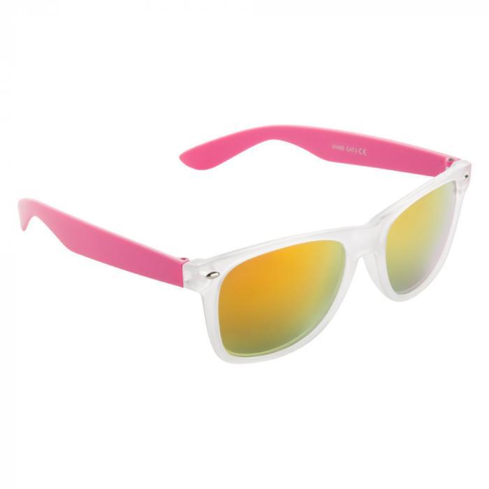 Sonnenbrille | Farbige Bügel | 83741351 Pink