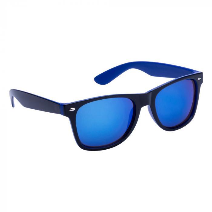 Sonnenbrille | Zweifarbiger Rahmen | 83741791 Blau
