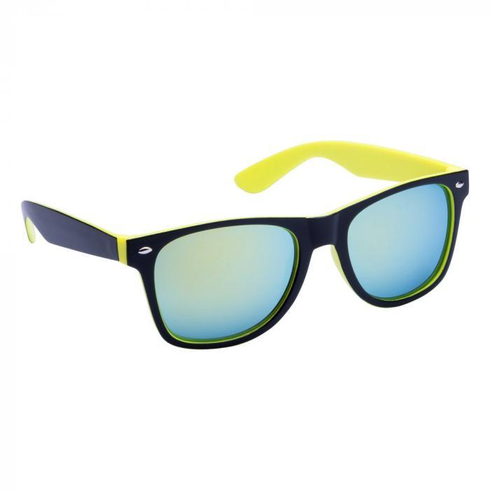 Sonnenbrille | Zweifarbiger Rahmen | 83741791 Gelb