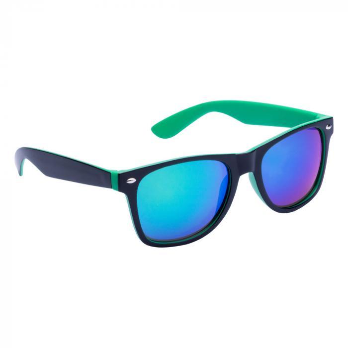 Sonnenbrille | Zweifarbiger Rahmen | 83741791 Grün