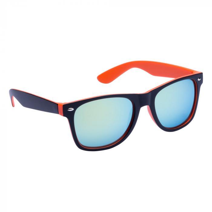 Sonnenbrille | Zweifarbiger Rahmen | 83741791 Orange