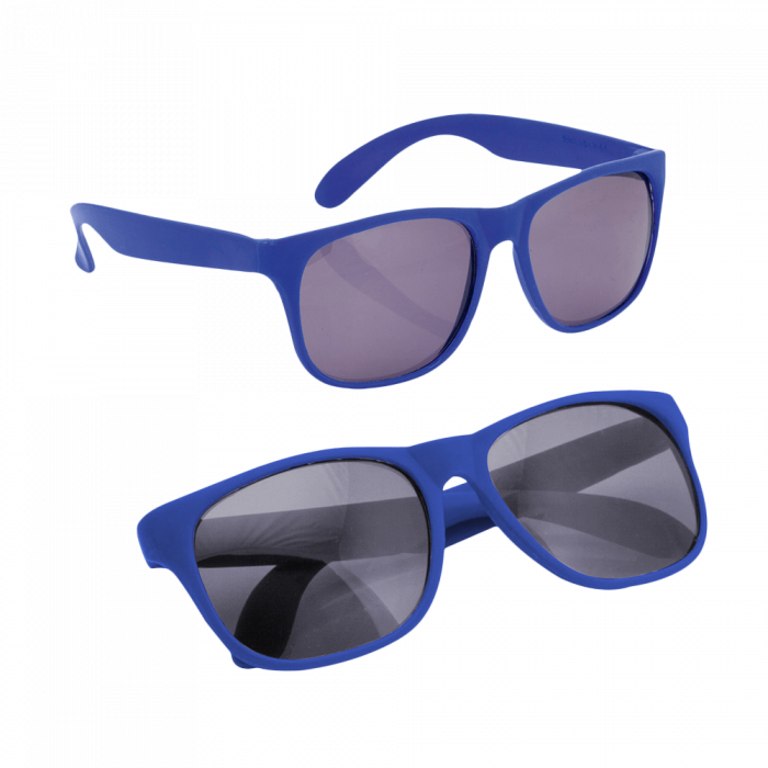 Matte Sonnenbrille   Budget   83791927 Blau