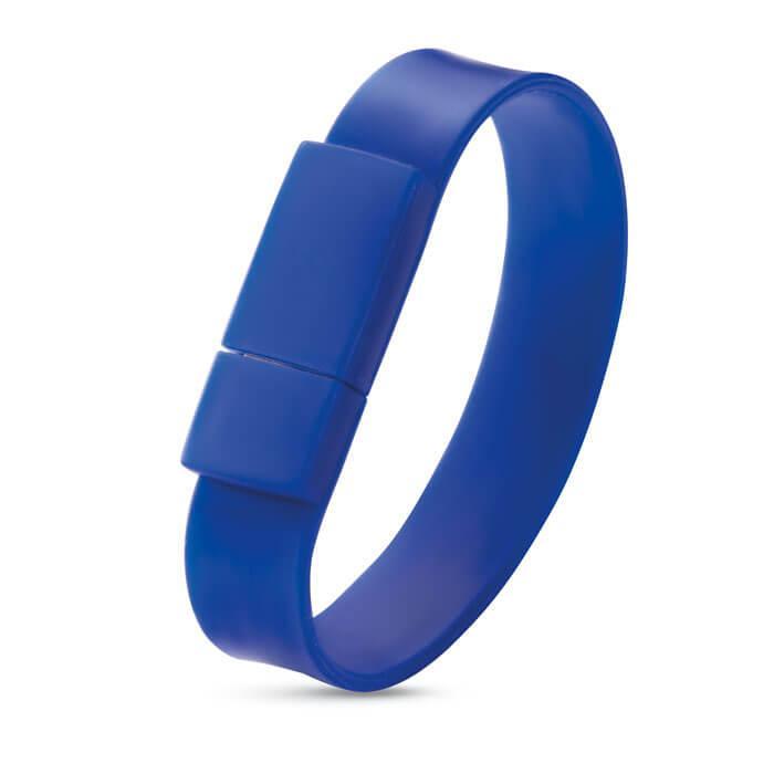 USB-Stick Silikonarmband   DE8791093 Blau