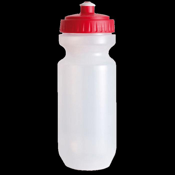 Trinkflasche mit farbigem Deckel | 0,575 l | 8797851 Rot
