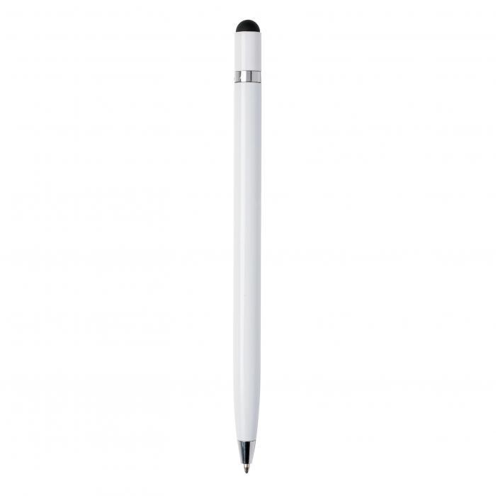 Touchkugelschreiber | Metall | Hochwertig | 8861094x Weiß