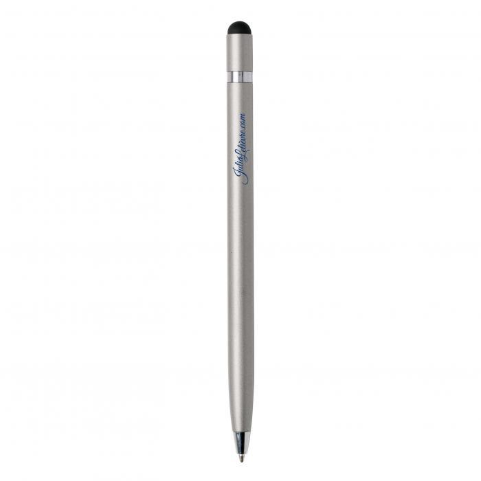 Touchkugelschreiber | Metall | Hochwertig | 8861094x Silber