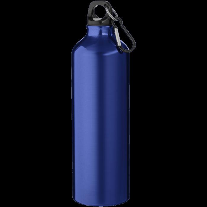 Trinkflasche mit Karabiner | 0,77 l | 92100297 Blau