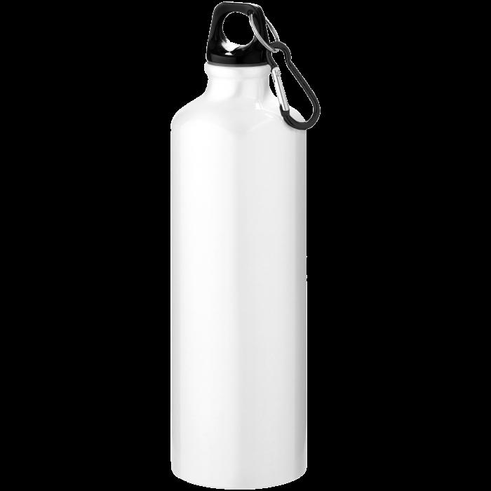 Trinkflasche mit Karabiner | 0,77 l | 92100297 Weiß
