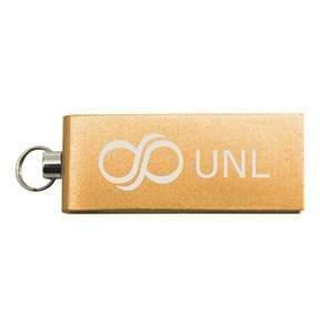 USB-Stick Micro Twist   DE690400 Gold