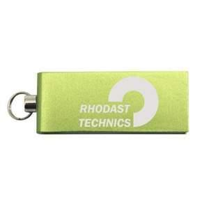 USB-Stick Micro Twist   DE690400 Lime