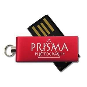 USB-Stick Micro Twist   DE690400 Rot