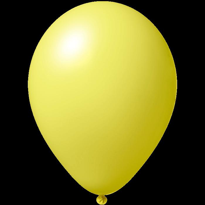 Luftballon | 33 cm | Kleinauflage | 9485951s Hellgelb