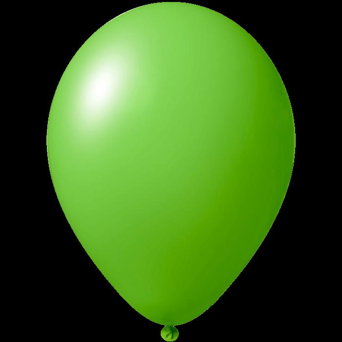 Luftballon | 33 cm | Kleinauflage | 9485951s Mittel grün
