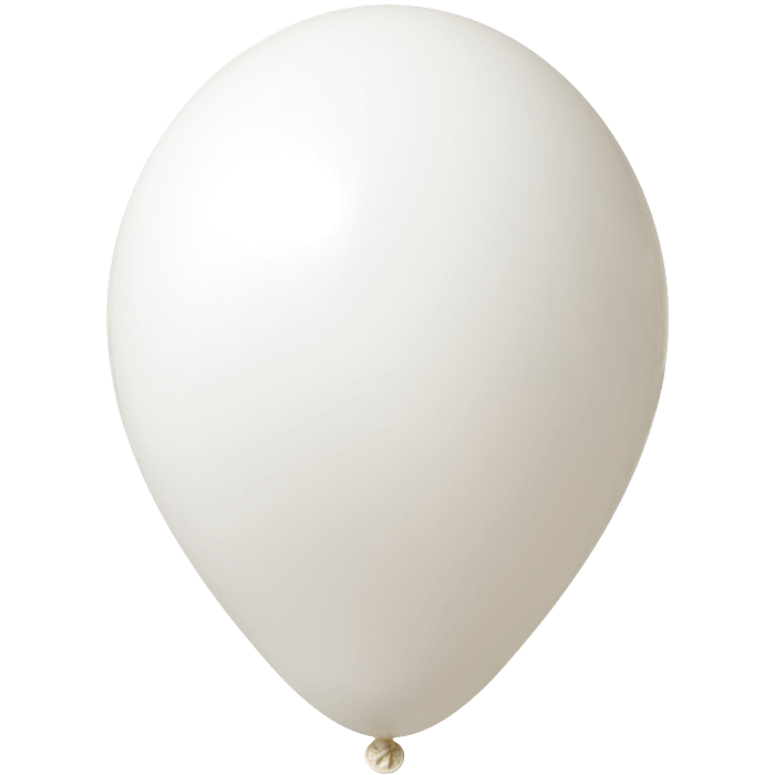 Luftballon | 33 cm | Kleinauflage | 9485951s Weiß