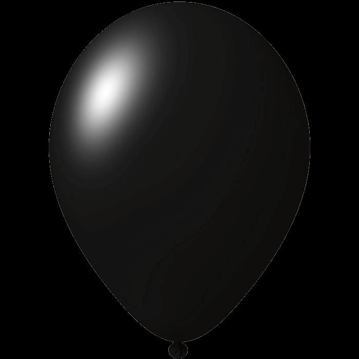 Luftballon | 33 cm | Kleinauflage | 9485951s Schwarz