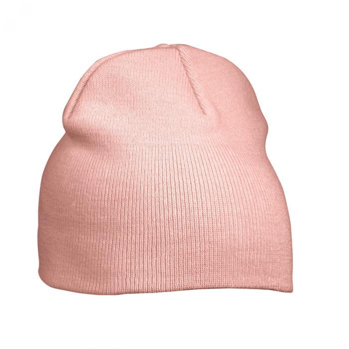 Beanie mit Stickerei | 96MB7580 Pink