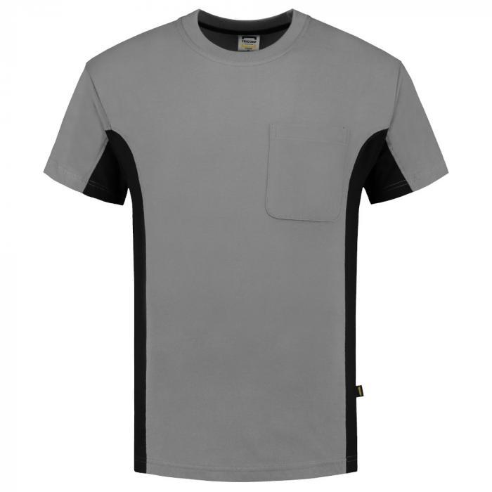 T-shirt Bi-ColorTT2000 | 97TT2000 grau/schwarz
