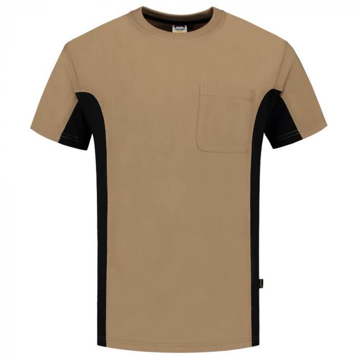 T-shirt Bi-ColorTT2000 | 97TT2000 Khaki Schwarz