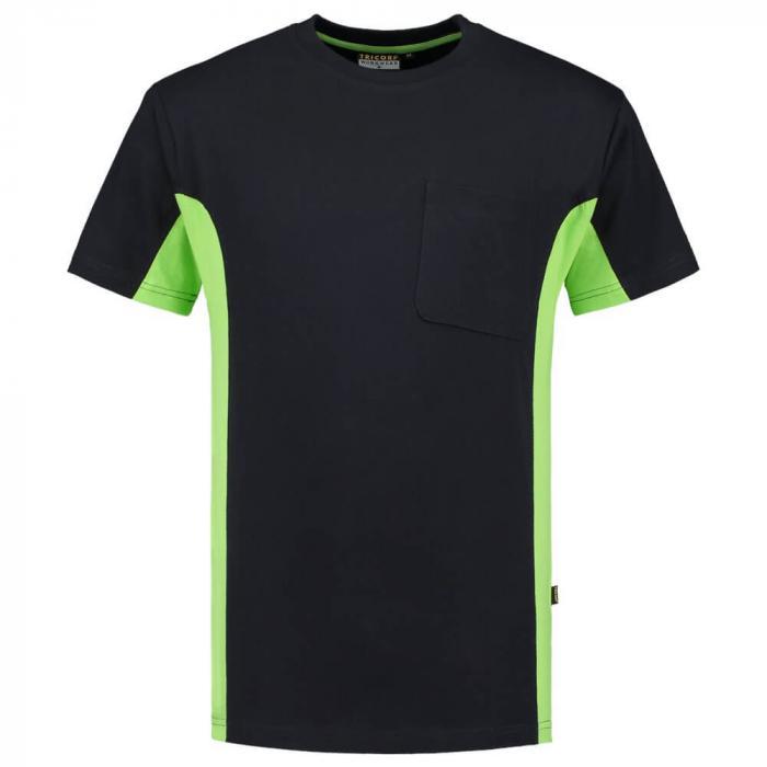 T-shirt Bi-ColorTT2000 | 97TT2000 navy lime
