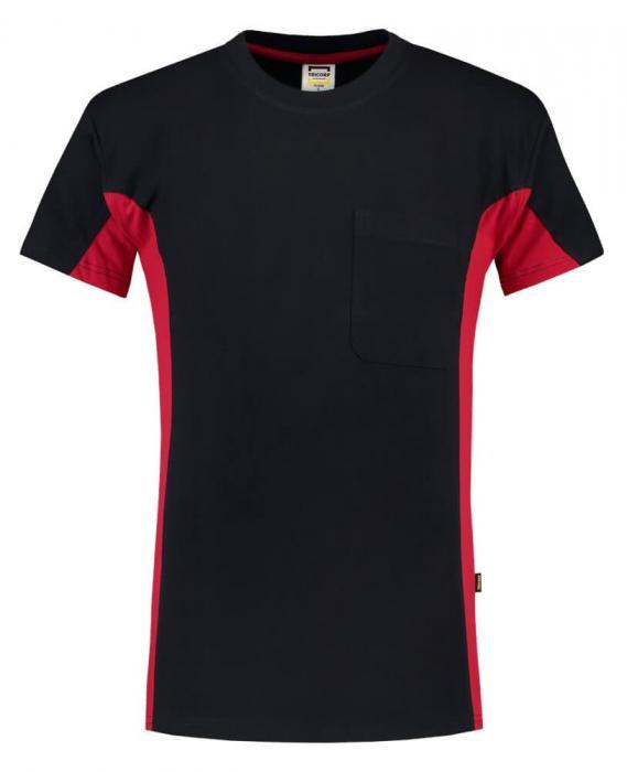 T-shirt Bi-ColorTT2000 | 97TT2000 navy/rot