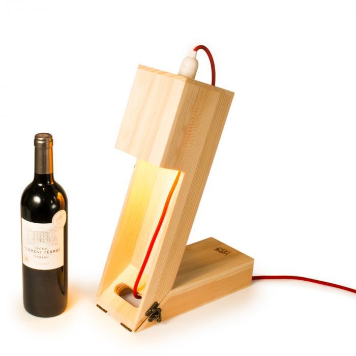 Rackpack Winelight   Weinkiste mit Tischlampe   470011