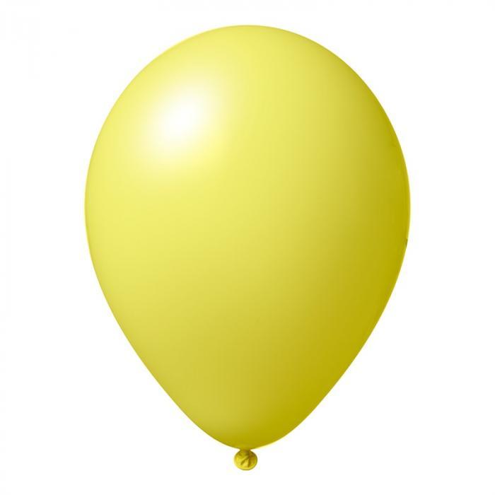 Luftballon mit Logo   30 cm   Schnell   14a1001s Gelb