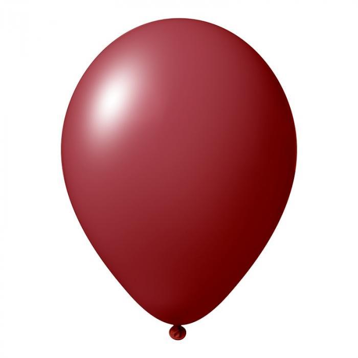 Luftballon   30 cm   Full Colour   14a100FC burgunder