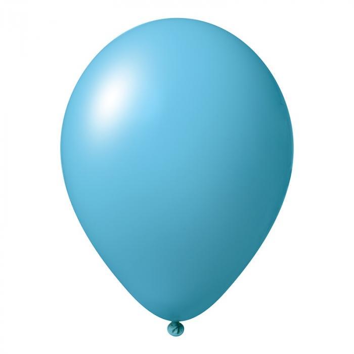 Luftballon mit Logo   30 cm   Schnell   14a1001s Sky