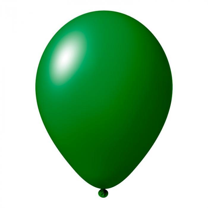 Luftballon mit Logo   30 cm   Schnell   14a1001s Waldgrün
