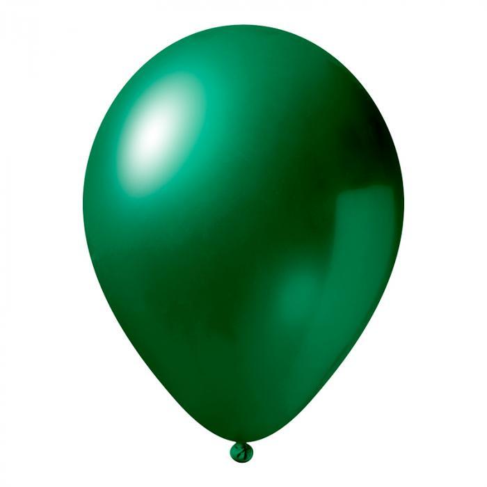 Luftballon mit Logo   30 cm   Schnell   14a1001s Dunkel Grün
