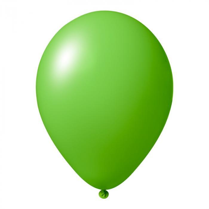 Luftballon mit Logo   30 cm   Schnell   14a1001s Apfelgrün