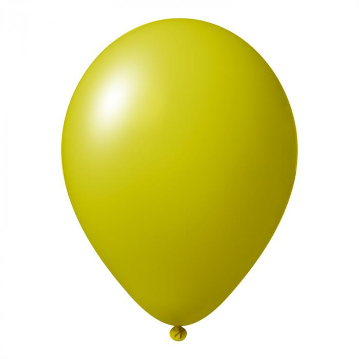 Luftballon mit Logo   30 cm   Schnell   14a1001s Ocker