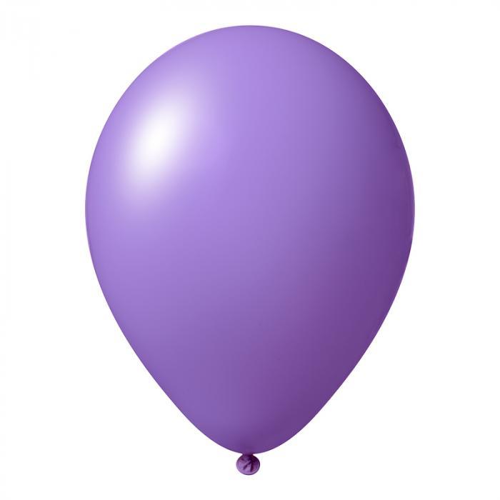 Luftballon mit Logo   30 cm   Schnell   14a1001s Lavendel