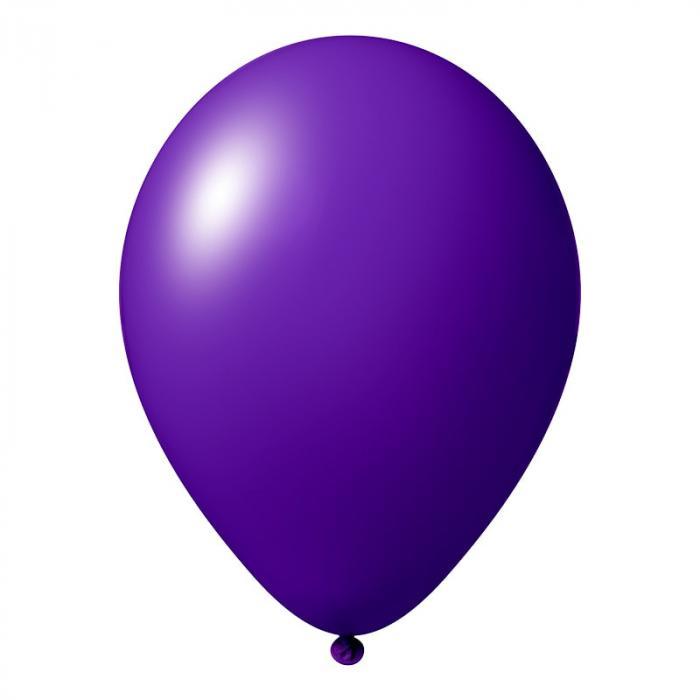 Luftballon mit Logo   30 cm   Schnell   14a1001s Violett