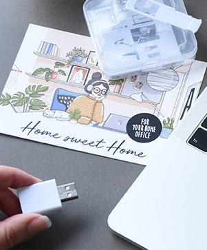 Geschenkboxen Home-Office