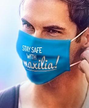 Nasen Mundschutzmasken mit Logo