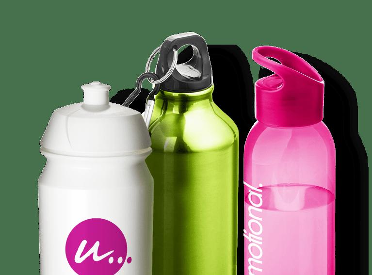 Trinkflaschen bedrucken