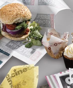 Gastro Verpackungen bedrucken