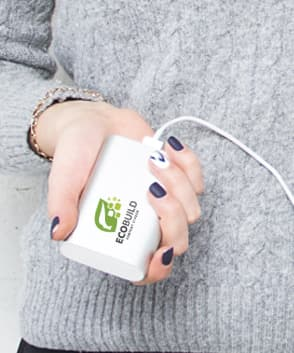 powerbanks bedrucken maxilia
