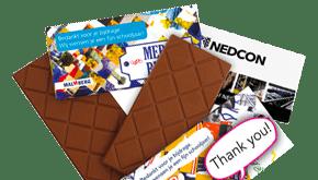 Schokoladentafeln bedrucken